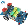 Free Shipping D2-5 Intelligent Tracking Line Car DIY Kit Suite TT Motor Electronic Assembly Smart Patrol Smart Automobile Parts