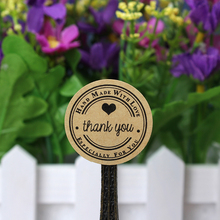1000pcs 3cm Especially for you label /Thank You love self-adhesive custom stickers kraft label sticker for custom logo made