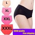 Nuevas bragas de las mujeres underwear escritos de gran tamaño de las señoras comfort mujer gran tamaño 3xl sexy underwear marca de bambú de las bragas para las mujeres