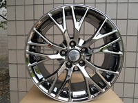 ALLOY WHEEL MAK MUNCHEN W FITS BMW Serie 1 8x17 5x120 BLACK W591