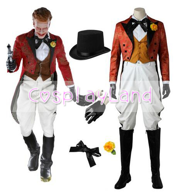Gotham Jerome Valeska Cosplay Costume Hot Tv Cosplay Halloween