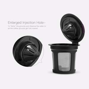 Refillable Coffee Filter Reusable Coffee Pod Capsule K Cup