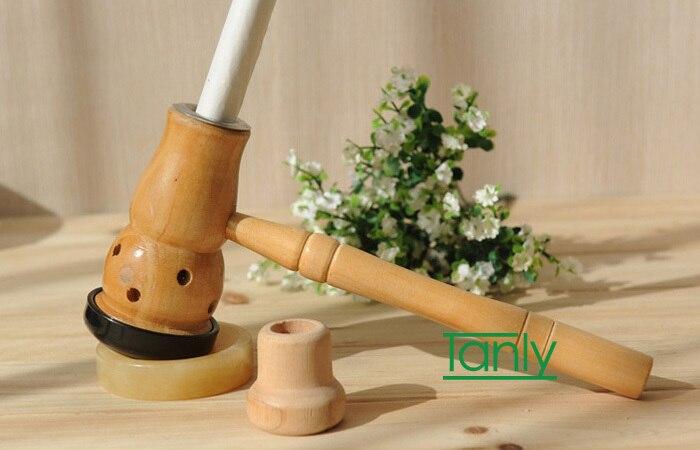 Vente en gros et au détail bois nombril Moxa Moxibustion boîte bonne qualité!