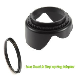 Image 4 - Flower Lens Hood for Sony RX10 Mark II 2 / Panasonic Lumix DMC FZ1000 FZ1000 Digital Camera / HC VX1 VX1 HC VXF1 VXF1 Camcorder