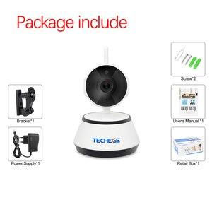 Image 3 - Techege 1080p hd câmera ip sem fio wifi 2mp com fio de vigilância vídeo visão noturna câmera segurança em casa rede interior yoosee