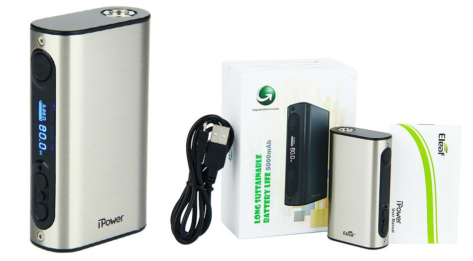 80W Eleaf iPower TC MOD - 5000mAh 2