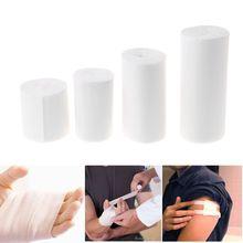 1 Set 10 Rolls Elastic Bandage First Aid Kit Gauze Roll Wound Dressing Medical Nursing Emergency Care Bandage madicare israeli bandage trauma dressing first aid medical compression bandage emergency bandage 4 inches