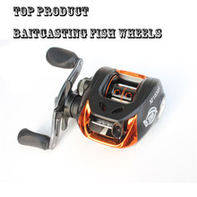 2 Color Top Product 10+1BB Alloy Body Baitcasting Fhsing Lure Reel Pecas Carp Fish Wheel Left/Right Hand SaltWater Fly Reel