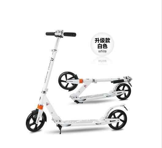 I bambini di età kick scooter NUOVO modello pieghevole DELL'UNITÀ di elaborazione di 2 ruote freno A Mano bodybuilding tutto in alluminio urbana campus di trasporto