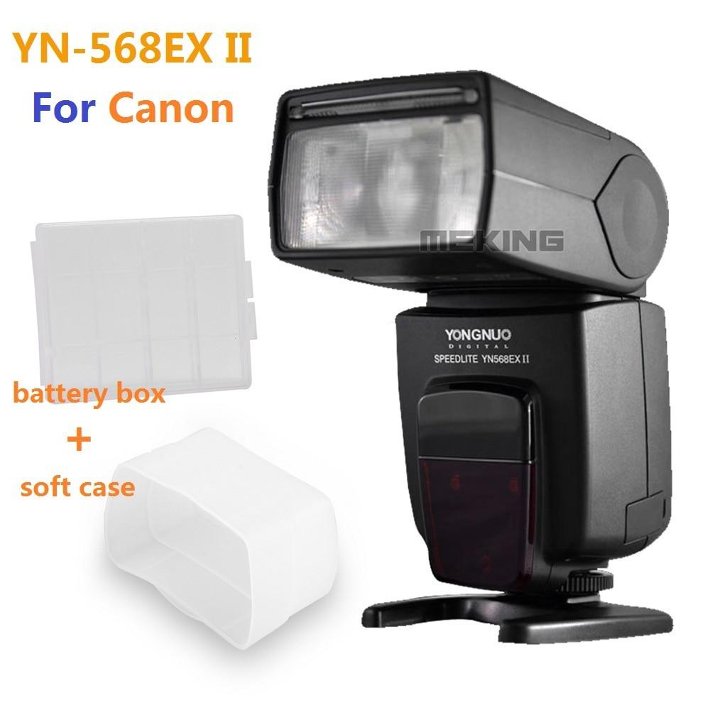 Yongnuo YN568EX II HSS Flash Speedlite for Canon  5D 7D 60D 50D 600D 550D 500D 450D 400D 450D 400D 350D 300D 1D 2x yongnuo yn600ex rt yn e3 rt master flash speedlite for canon rt radio trigger system st e3 rt 600ex rt 5d3 7d 6d 70d 60d 5d