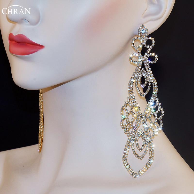 Sparkling Crystal Block Ring Chandelier: Aliexpress.com : Buy Chran Sparkling Bridal Gold Color