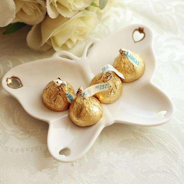 Porcelain Wedding Favors: Wedding Favors Butterfly Candy Dish From The Porcelain