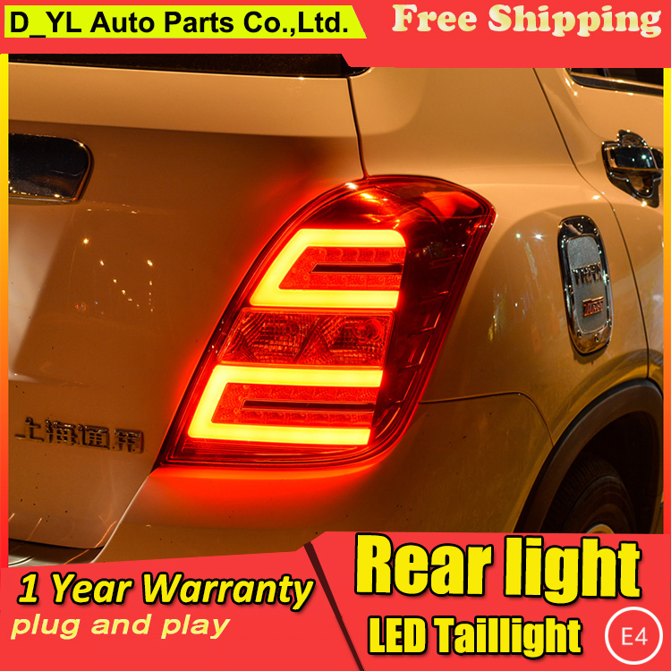 Car Styling Tail Lamp for Chevrolet Trax Tail Lights 2014 16 For Trax LED Rear Light