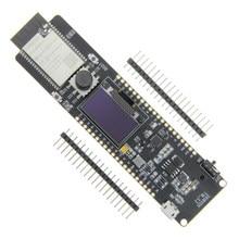 LILYGO®TTGO T-Lion ESP32-WROVER 4MB SPI Flash и 8MB PSRAM 0,96 OLED 5-Way Button 18650 Держатель аккумулятора