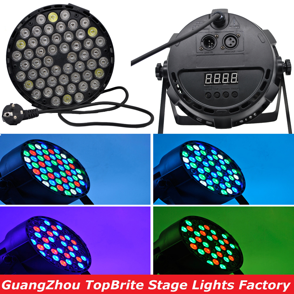 2016 Hot Sales Led Par Can 54X3W RGBW Led Par Light Strobe DMX Controller Party Dj Disco Bar Strobe Dimming Effect Projector niugul 4pcs lot dmx led par 54x3w rgbw stage par light wash dimming strobe lighting effect light for disco dj party show par led