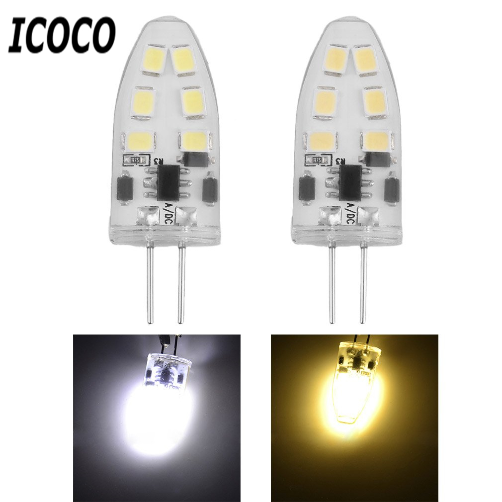 G4 Mini Dimmable LED Lamp with 12 LEDs COB 9W SMD 2835 AC/DC 12V Light 360 Beam Angle Chandelier Replace Halogen Lamps