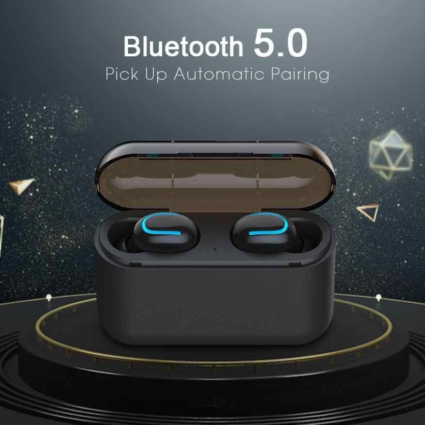 Bluetooth наушники 5,0 TWS беспроводные наушники Blutooth гарнитура спортивные наушники игровая гарнитура телефон PK HBQ