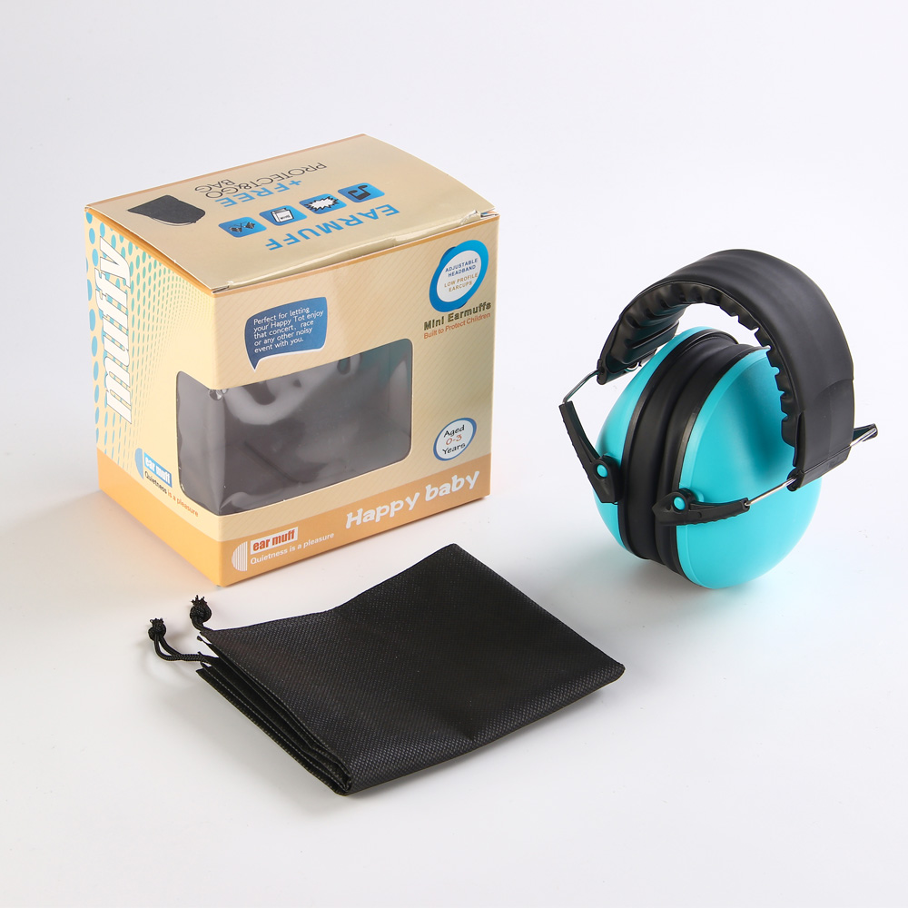 Купить с кэшбэком Kids Hearing Protector Soft Earmuffs Baby Sound Insulation Headset Headphones Anti-noise Ear Muff Baby Care Accessories 3 Colors