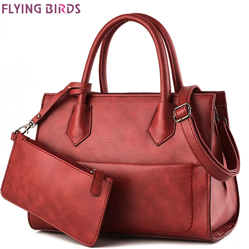 Flying Birds women leather handbag luxury famous brands women handbag messenger bags shoulder bag fashion bag