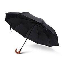 JPZYLFKZL 2018 Ten Bone Anti-UV Automatic Folding Umbrella Rain Women Luxury Large Windproof Men Corporation Parasol