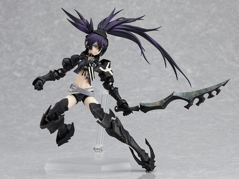 Japan Anime Figma Black Rock Shooter Figma SP 041 PVC Action Figure Collection Model Toys Doll 15cm 2