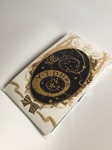 Image 5 - Yidhra brama Rolling seria gwiezdnych styl steampunk Lolita rajstopy gotyckie czarne i złote rajstopy edycja limitowana