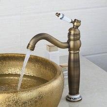 Современная античная латунь одной ручкой Бар Спрей Head смеситель для кухни, водопад раковина кран водопроводной воды, chrome 97156 смесители