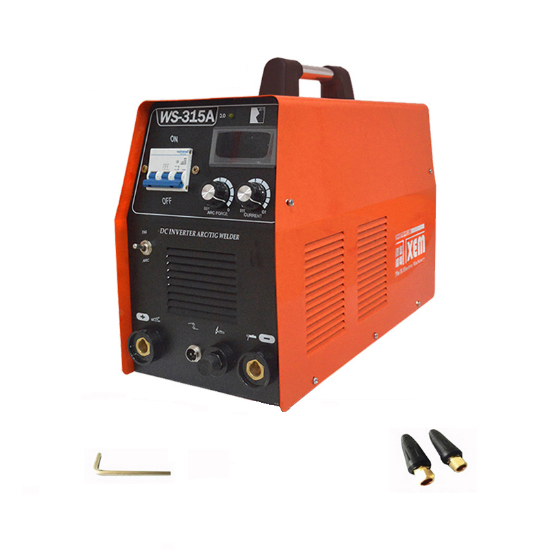 New Manual / Argon Inverter IGBT Arc Welder MMA DC TIG Welding Inverter Machine & Helmet 220V 10.4-315A New Mini Portable