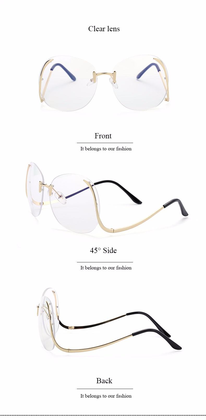 Eyeglasses Women Sun Frame 7