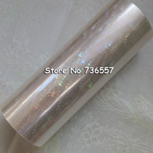 Foil Paper Holographic-Star Transparent Hot-Stamping Shattered Plastic for 16cm X120m/Shattered/Star/Gilding-foil
