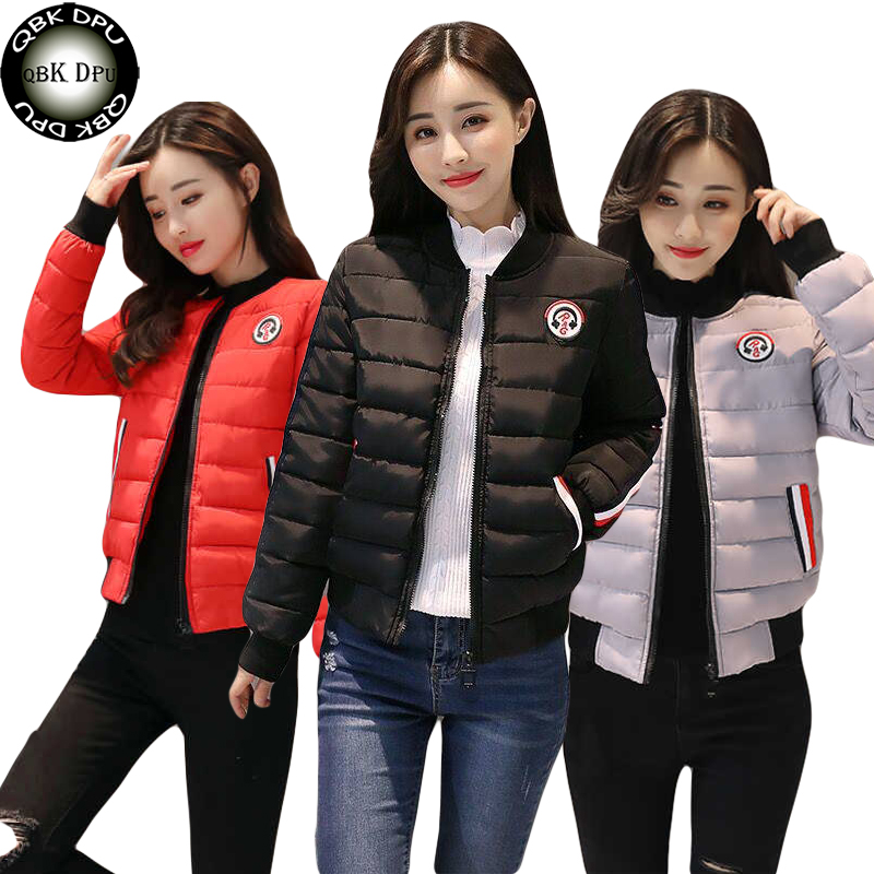 2019 New Winter Short Jacket Women Fashion Autumn Warm Thicken Cotton Padded Down Parkas Female Top Clothing Coat abrigos mujer