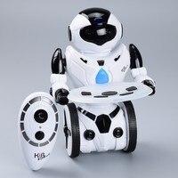 JXD RC Robot Toys Intelligent Balance Wheelbarrow Gesture Control Battle Dancing Drive Multi Function Robot For