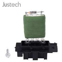 Justech Car Heater Blower Motor Fan Resistor 13248240 55702407 For Vauxhall Opel Corsa Fiat Punto 12 V 5 Pins Blower Resistor(China)