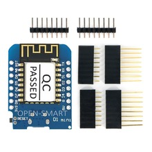 ESP8266 ESP-12F D1 Mini Wi-Fi Development Board Module Usable with Arduino IDE w/ CH340G Driver