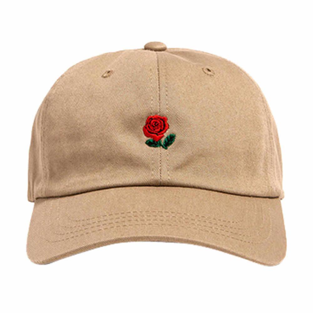 النساء الرجال روز التطريز قيعة بيسبول صغيرة الفتيان الفتيات الشارع الشهير البوب قبعة قابلة للتعديل الهيب هوب قبعات مسطحة غورا هومبر touca