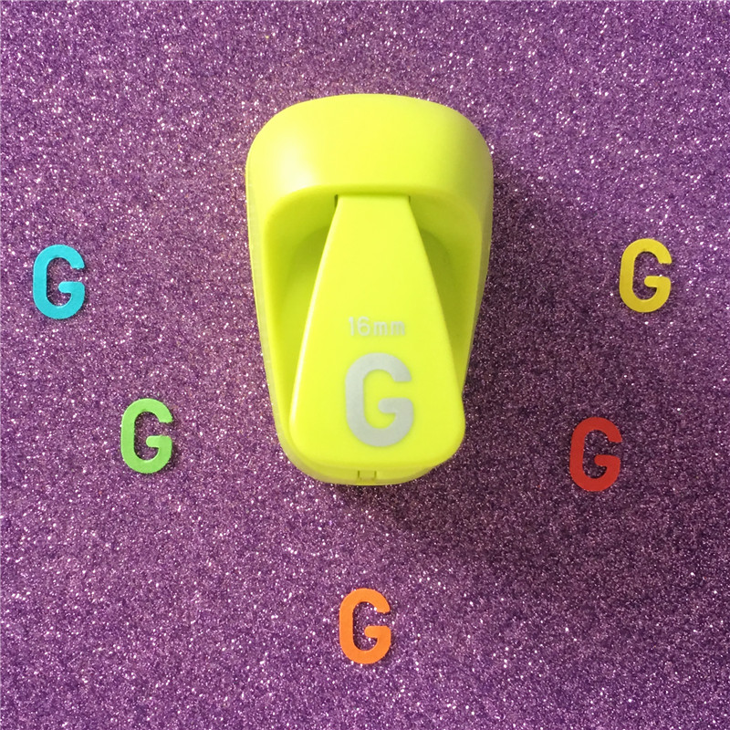 Letter Hole Puncher.Us 6 13 5 Off Free Shipping Alphabet G Shaped Save Power Paper Eva Craft Punch Scrapbook Handmade Punchers Diy G Letters Hole Punches Puncher In