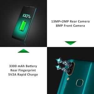 "Image 3 - Smartphone dorigine LEAGOO S11 Android 9.0 LTE 4G 6.3 ""écran goutte deau 4GB 64GB Helio P22 13MP Smartphone double empreinte digitale SIM"