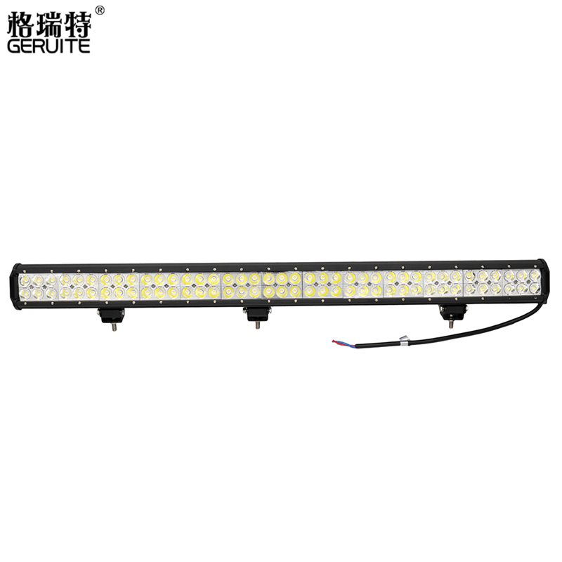 GERUITE 2PCS 234W Waterproof LED Work Light Bar for Indicators Driving Offroad Boat Car Tractor Truck 4x4 SUV ATV Spot Lighting hot 7inch 36w led work light bar for indicators motorcycle driving offroad boat car tractor truck 4x4 suv atv flood