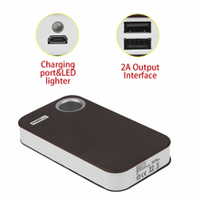 15000mAh Portable Power Bank  USB External Backup Battery Charger 5*18650 Battery Fast Powerbank Case  For Mobile Phones