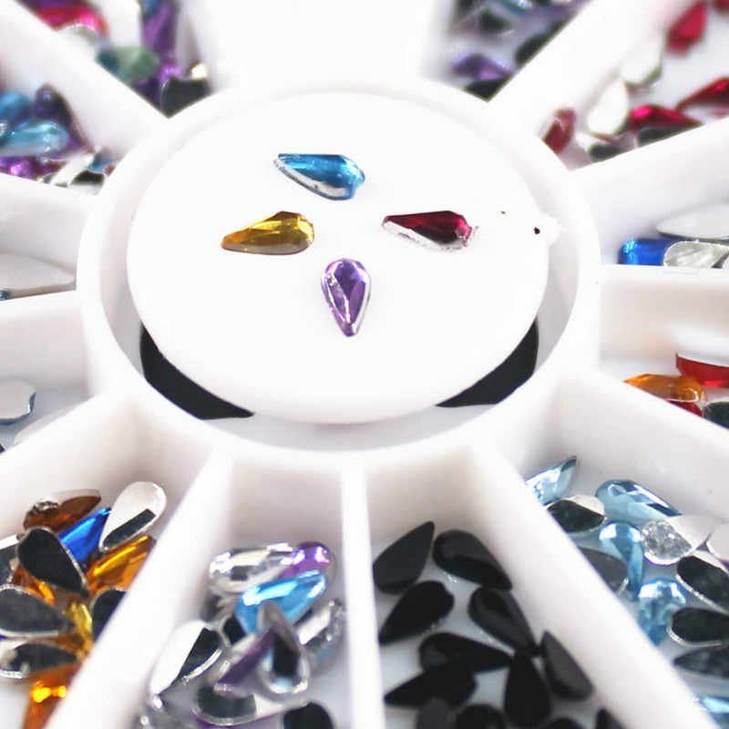 1 Box Mixed Color 3D Nail Art Templates Pure Clear Jelly Silicone nail stamping plate Transparent Nail Stamp Nail Art