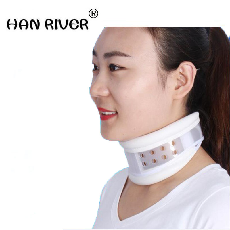 Breathable fixed neck collar cervical traction apparatus confining Cervical spondylosis household neck curvature correction cervical traction apparatus with high quality household fixed cervical stretched neck massager massage pillow