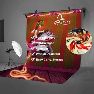 Image 4 - 5x7ft 회전 목마 배경 행복 회전 목마 어린이 파티 사진 배경 및 스튜디오 사진 배경 소품