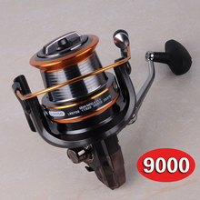 Daiwa Like Fishing reel 9000 seires full metal wire cup fishing Reels Big Shot sea daiwa spinning reel