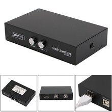 BGEKTOTH 2 порта USB2.0 распределительное устройство переключатель адаптер Коробка для ПК Сканер Принтер