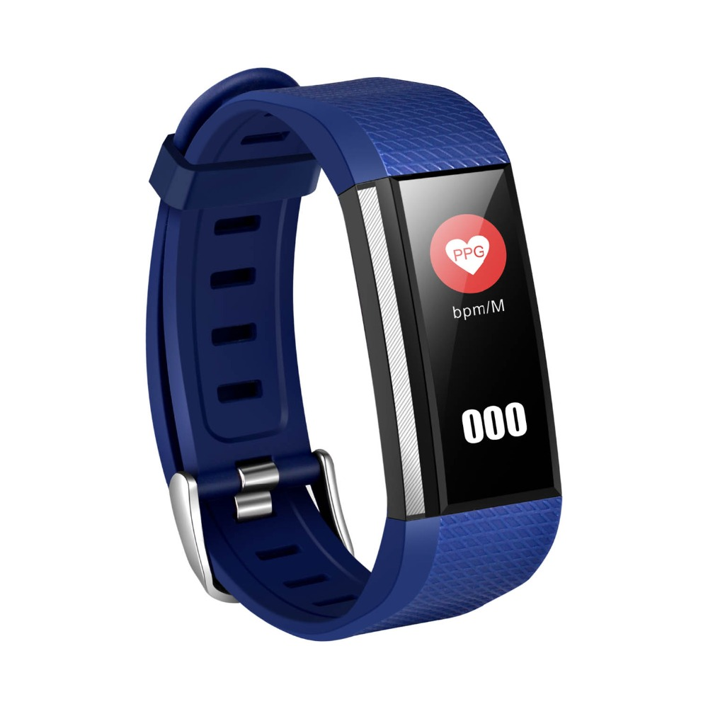 696 Hot smart Bracelet M200 health bracelet blood oxygen heart rate monitoring Bluetooth pedometer LED display smart watch brace