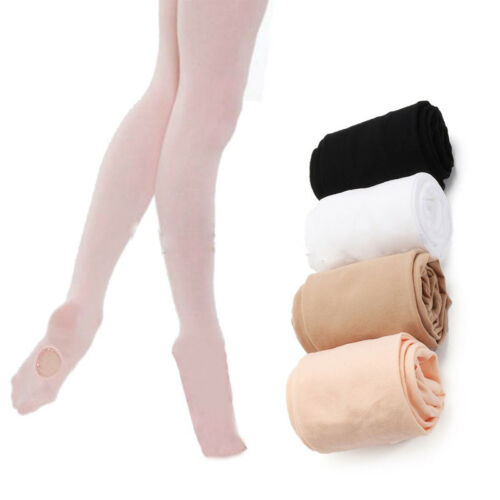 Fashon Kids And Adults Convertible  Dance Stocking  Ballet Pantyhose Y Solid Leggings Soft Dancing