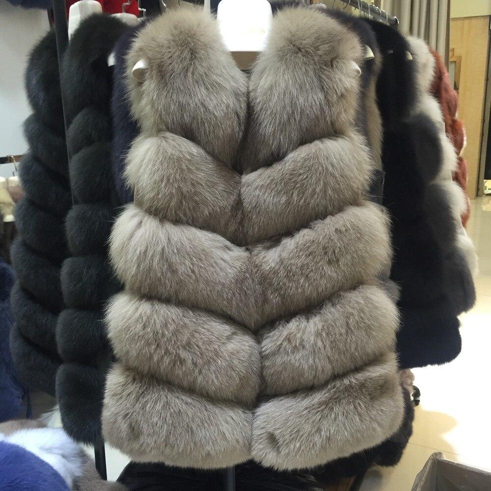 Aliexpress.com : Buy JKP Natural Real Fox Fur Vest women