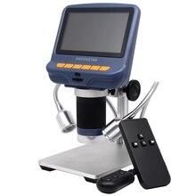 """4,"""" цифровой микроскоп 1080P USB видео микроскопы для ремонта телефона паяльник инструмент Bga SMT Ювелирные изделия Лупа 220X+ металлическая подставка"""