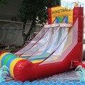 Al aire libre Juego De Carnaval Gorila Inflable Con Aro de Baloncesto Juego De Baloncesto Inflable
