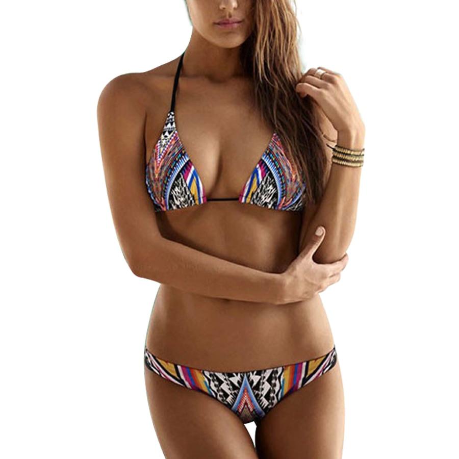 Recommend you Three women in bikini swimwear have